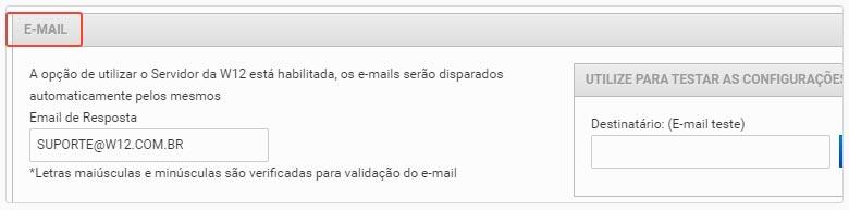 Financeiro Caixa Empresa E-mail